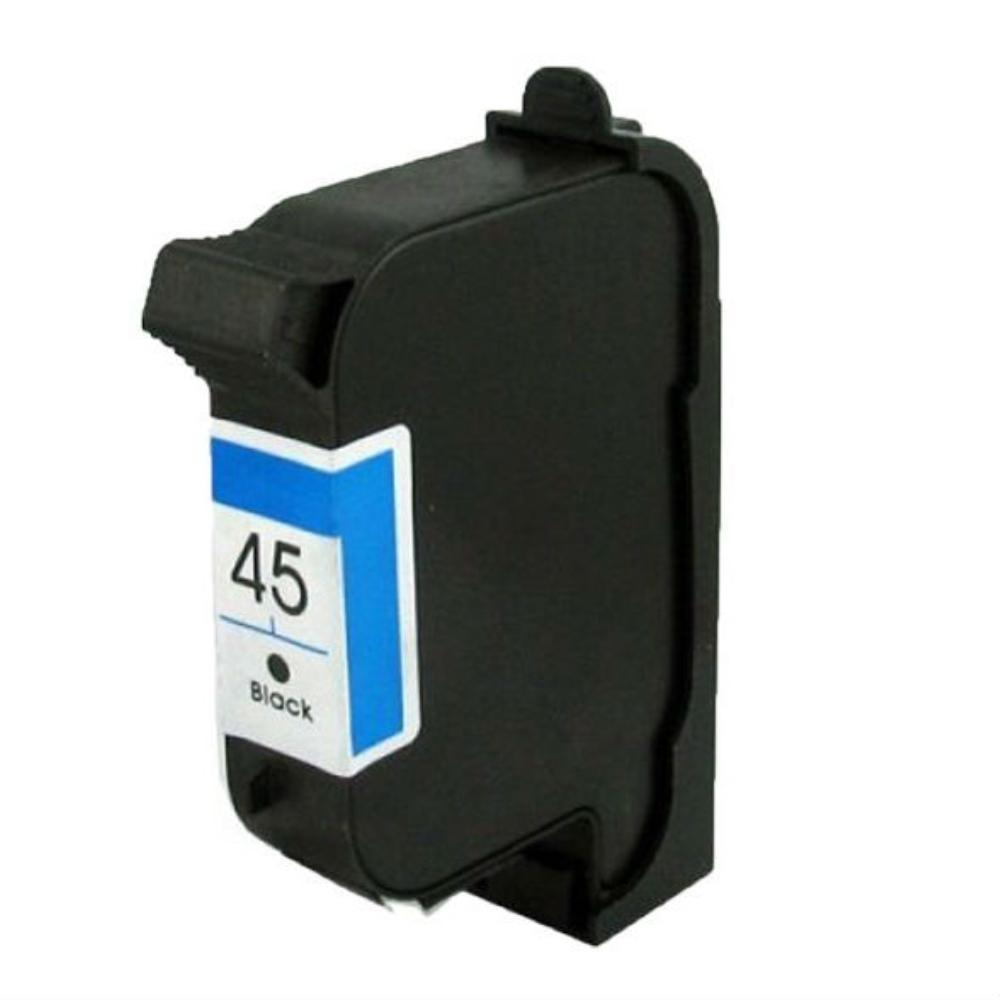 דיו שחור תואם HP 45 51645a