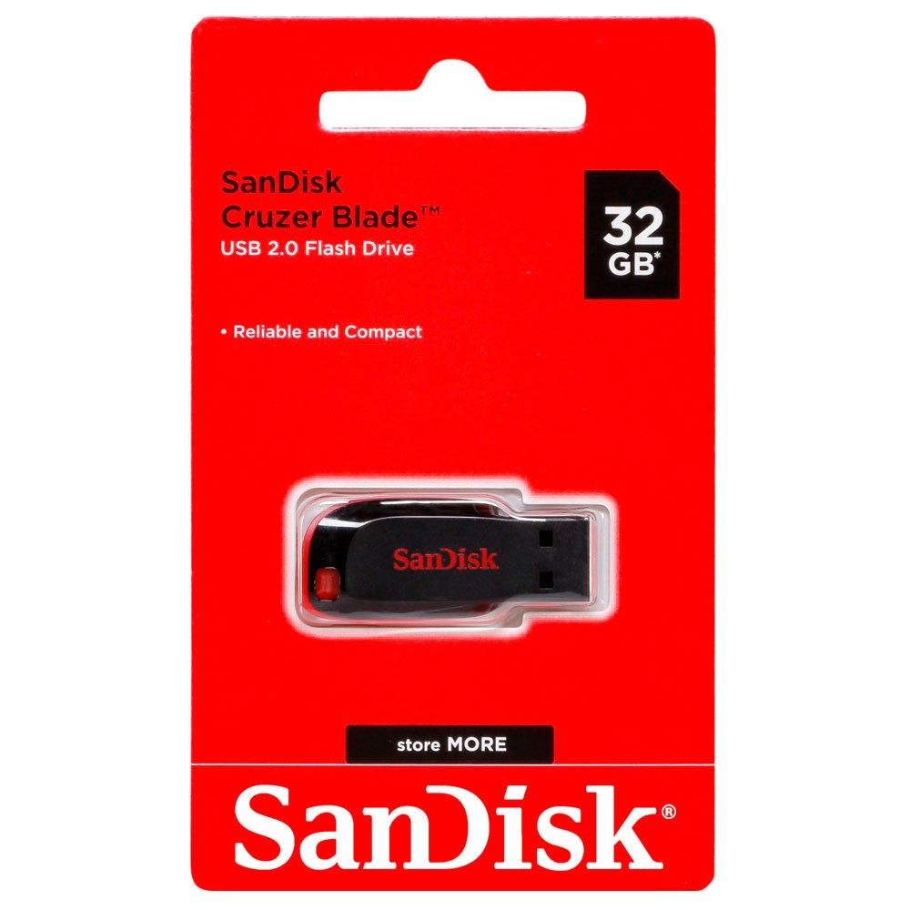 זיכרון נייד SanDisk Cruzer Blade 32GB