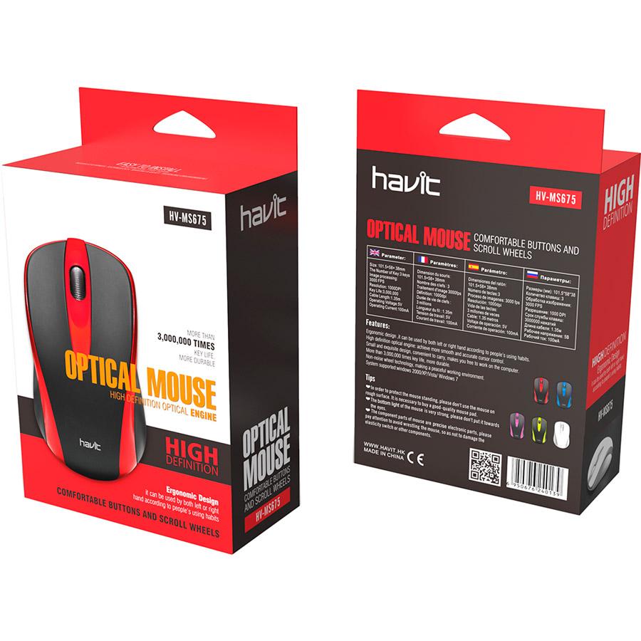 עכבר חוטי אופטי Havit