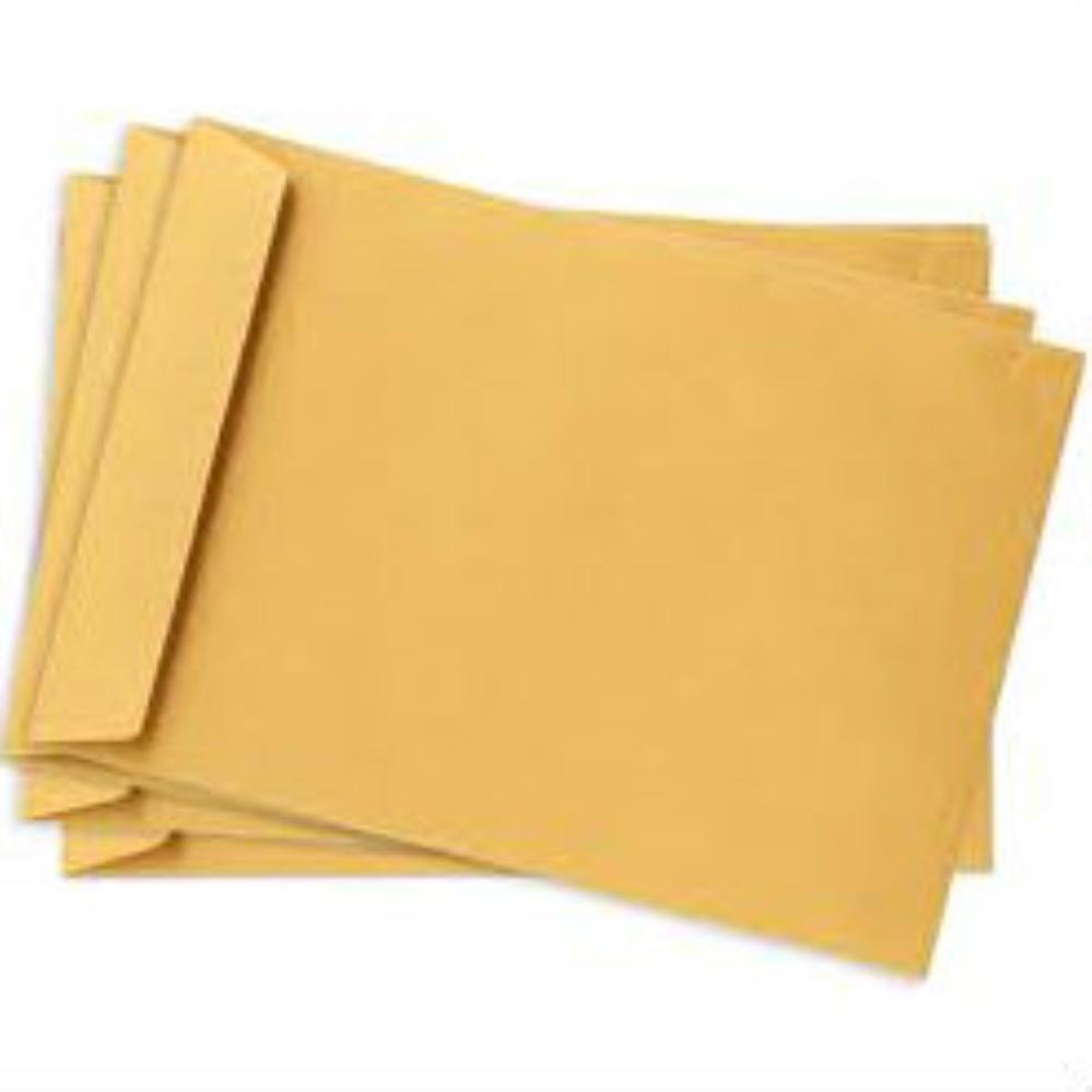 מעטפות חומות ללא דבק 35X48