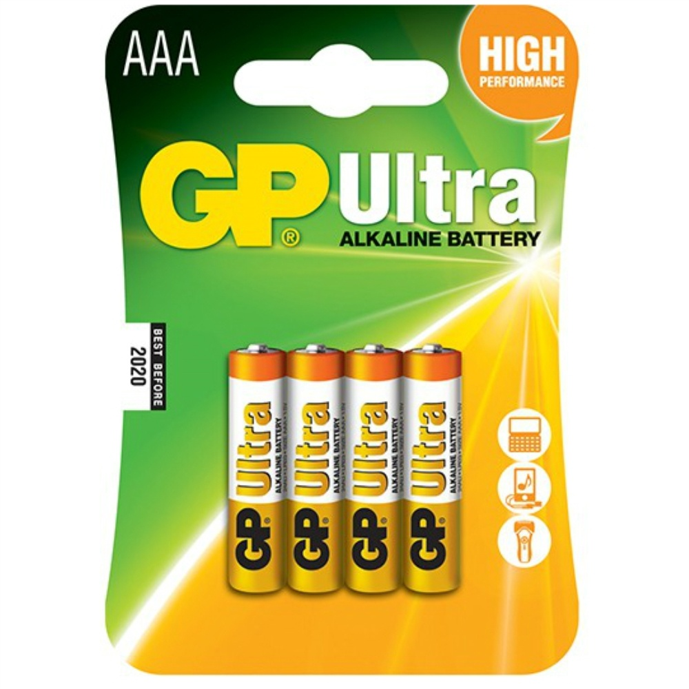 ארבע סוללות GP AAA