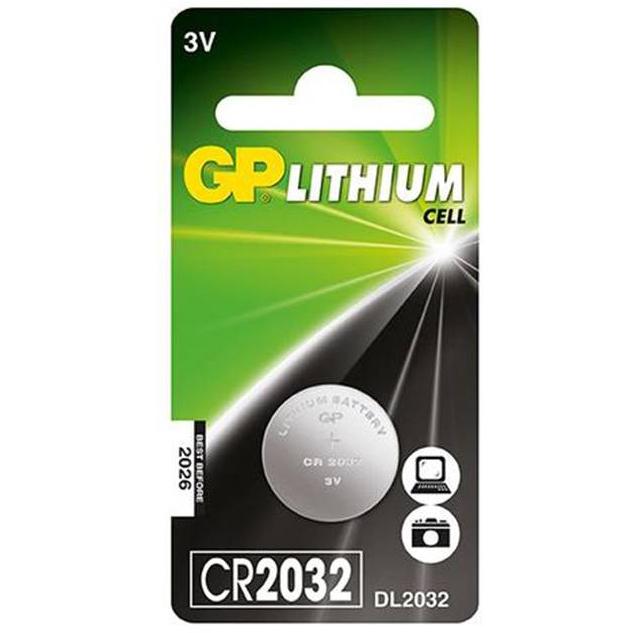 סוללת כפתור ליתיום GP C5 220mA 3V CR2032