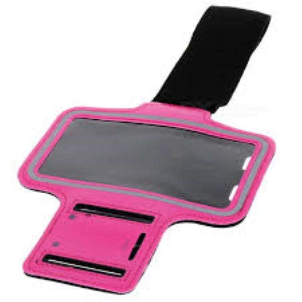 נרתיק ריצה למכשירי סמסונג ואייפון (בצבע ורוד (למסך עד 7סמ)