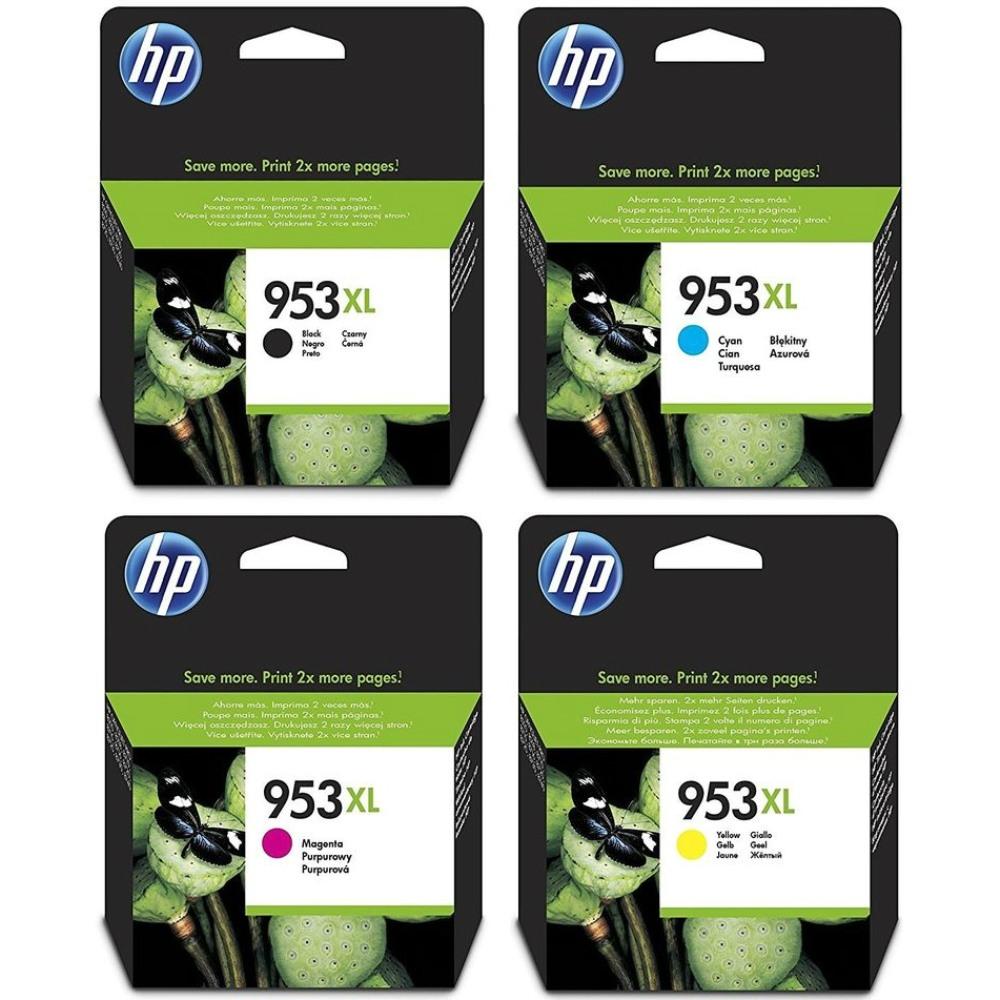 סט דיו מקורי HP 953XL