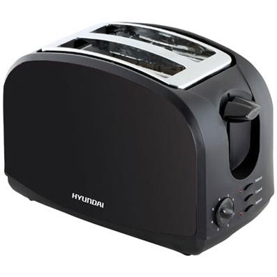 מצנם 2 פרוסות Hyundai HAT-203B (בצבע שחור)