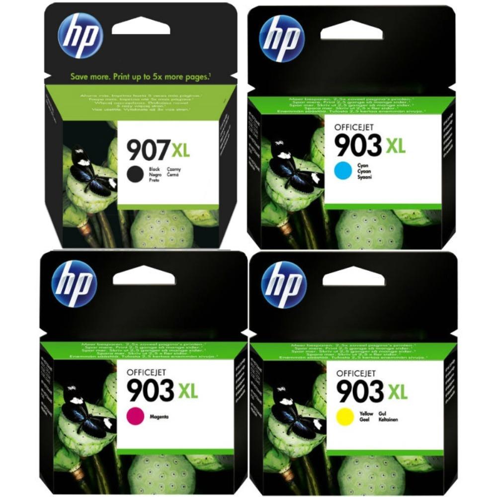 מארז דיו מקורי HP 907XL 903XL
