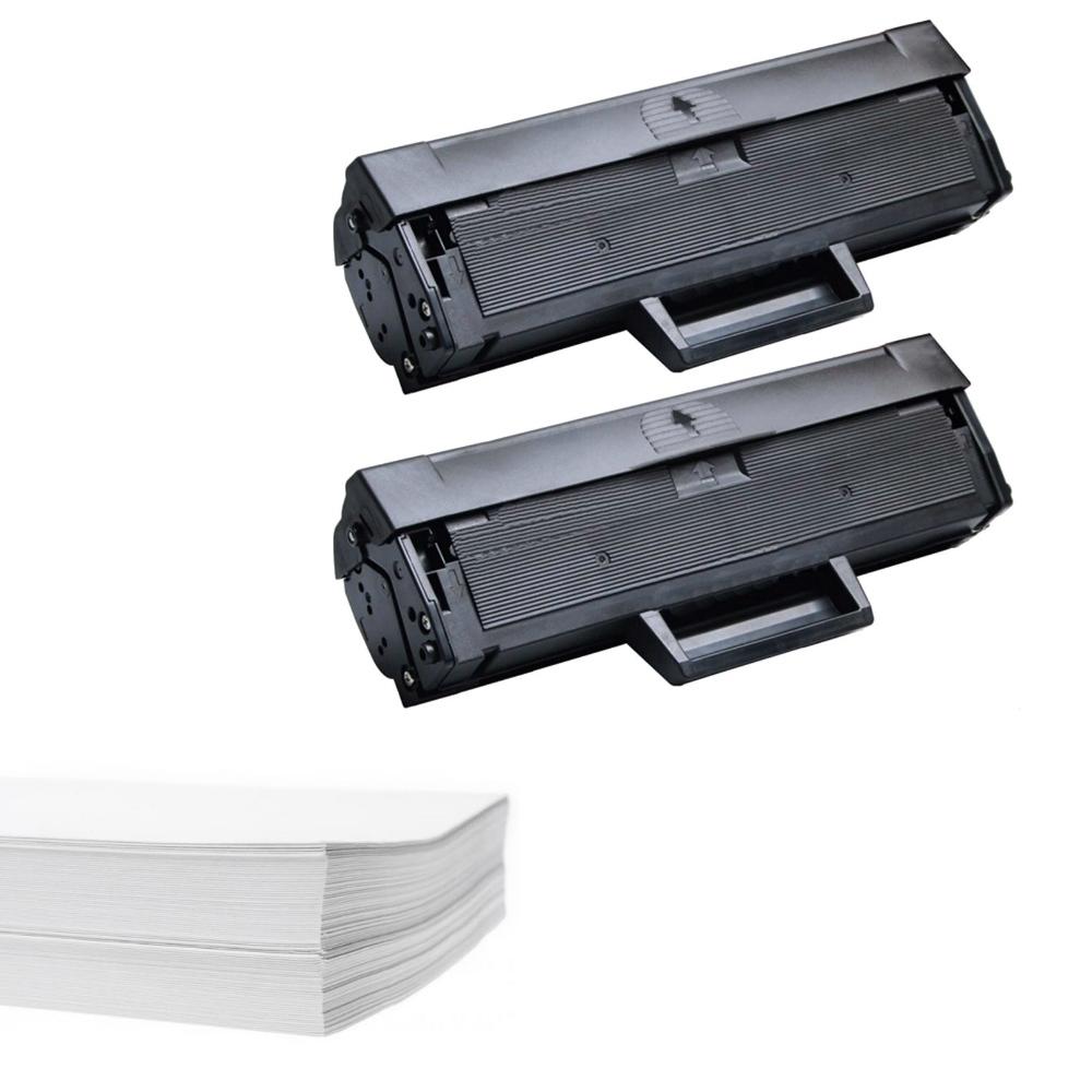 חבילת נייר וזוג טונרים תואמים Xerox 106R02773