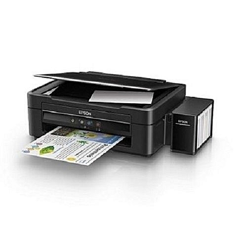 Epson L382 מדפסת הזרקת דיו משולבת צבעונית