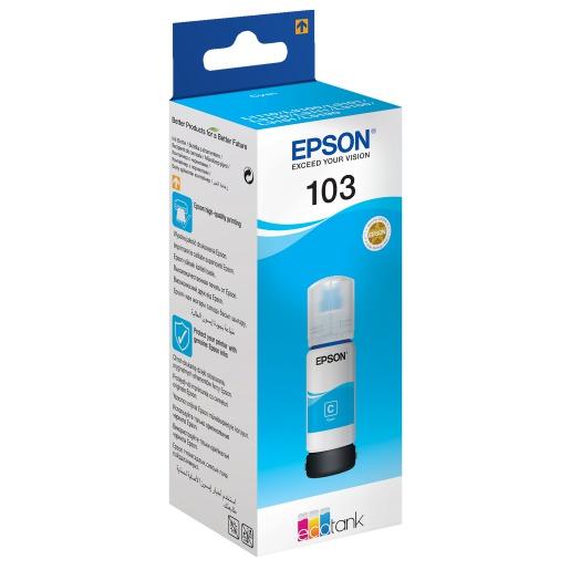 דיו סיאן מקורי Epson 103