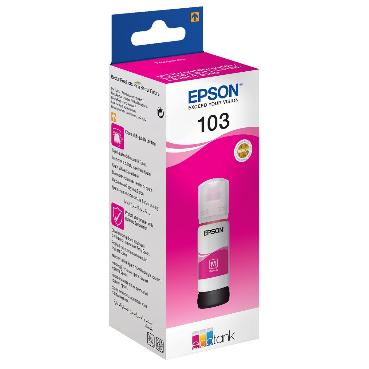 דיו מגנטה מקורי Epson 103