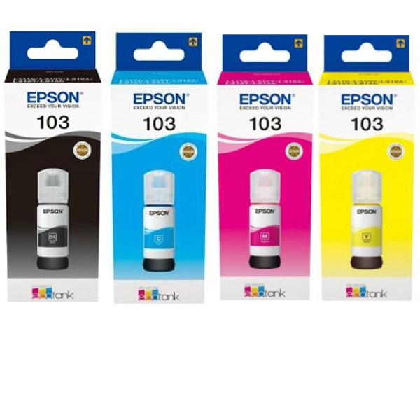 מארז דיו מקורי Epson 103