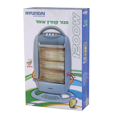 תנור קוורץ עומד Hyundai HAH-8120