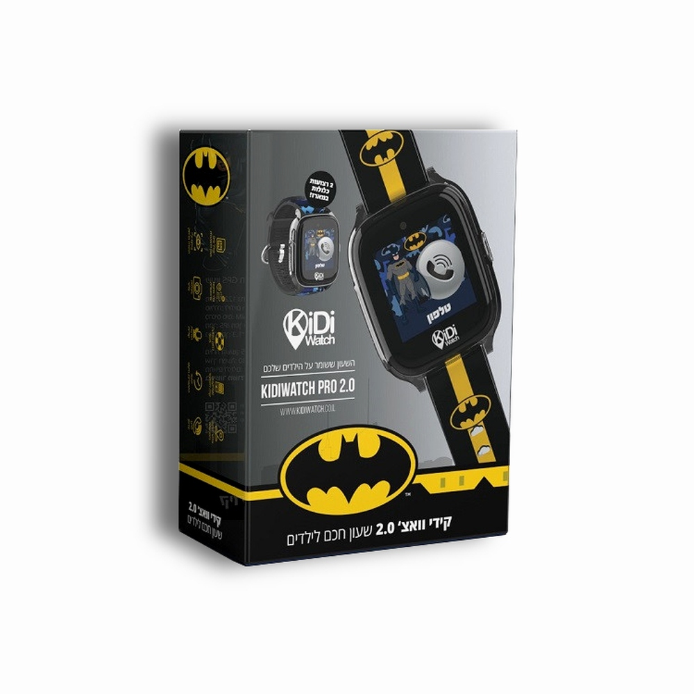 שעון GPS לילדים KidiWatch Pro Batman