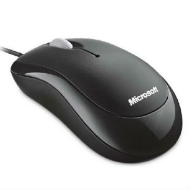 עכבר חוטי שחור Microsoft Basic Optical Mouse